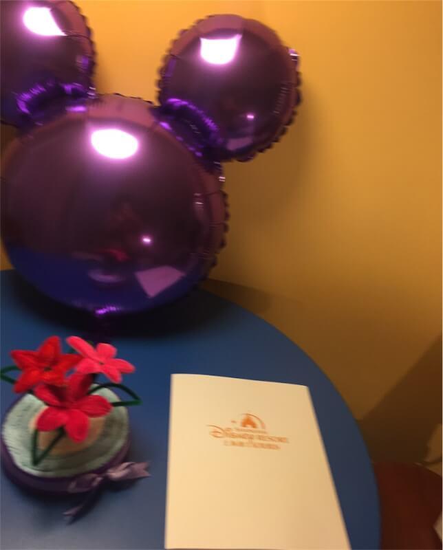 上海ディズニーランドのトイ・ストーリー・ホテルの誕生日デコレーション