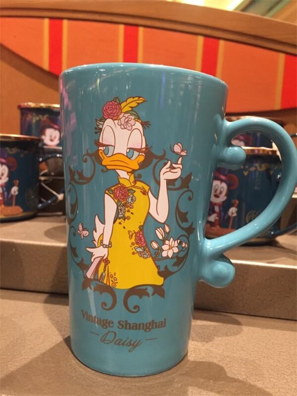 上海ディズニーランド限定デイジーのマグカップ