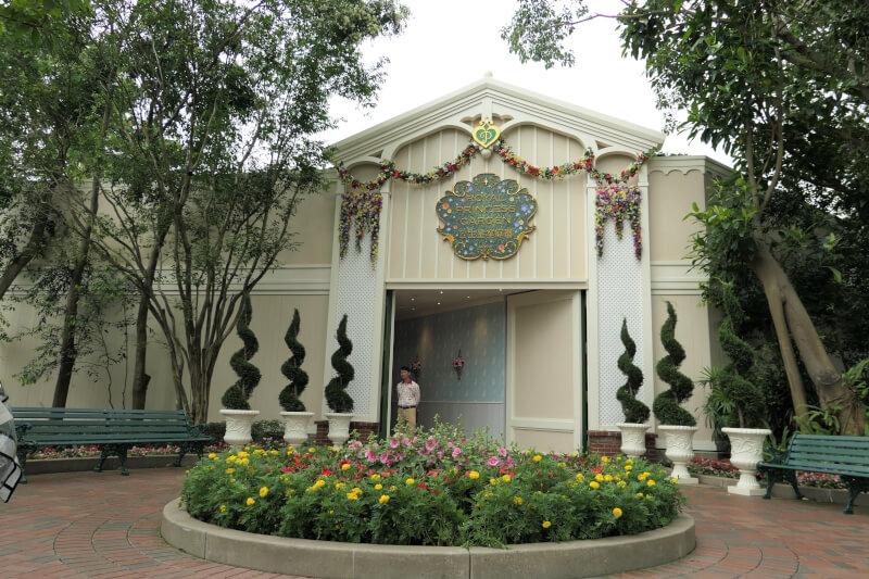 香港ディズニーランドのロイヤル・プリンセス・ガーデン