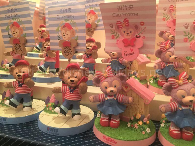 2018年上海ディズニーランド ダッフィーグッズ ダッフィー、シェリーメイのフォトスタンド