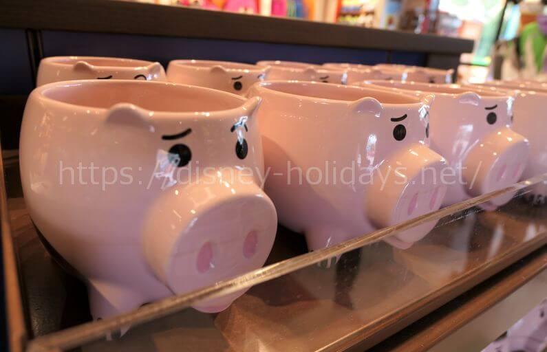 上海ディズニーランドのトイ・ストーリーグッズ ハムのマグカップ
