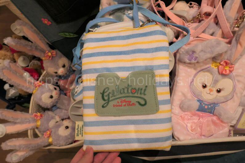 2018年上海ディズニーランド ダッフィーグッズ ジェラトーニ、ステラ・ルーのミニバッグ